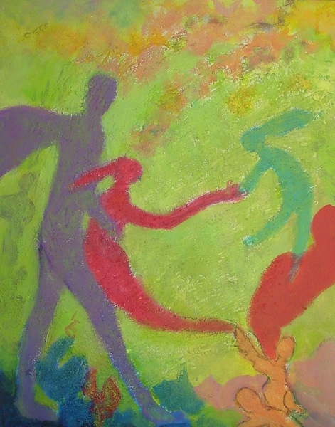 Aid, 16 x 20, Acrylic with Texture on Canvas 8-8-2011 7-42-43 AM