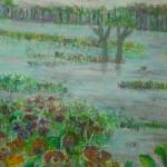 Acton Bog Scene, 20 x 24, Acrylic on Canvas, $450