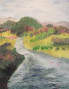 Taylor Creek 1, 24 x 30, $525