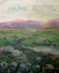 Road to Pink Hills, 2014