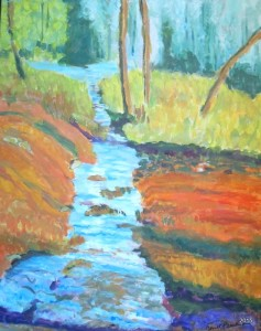 Close to Mint Spring, 24 x 30, $525