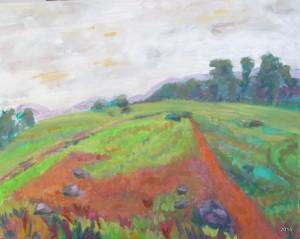 Rosco Pasture III, 16 x 20, SOLD