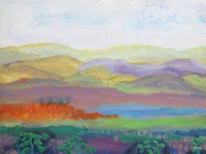 Hues of the Blue Ridge, 16 x 20, SOLD