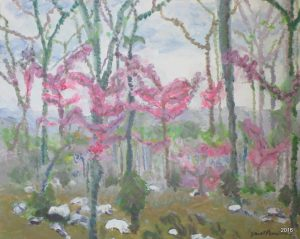 Avalon Spring I, 16 x 20, Acrylic, $475