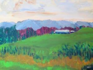 Afton View, 16 x 20, $475