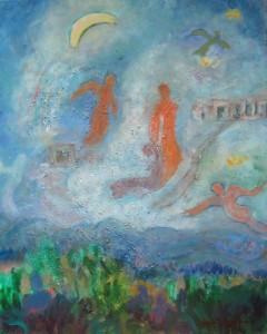 Chagall Mood, 16 x 20, $395